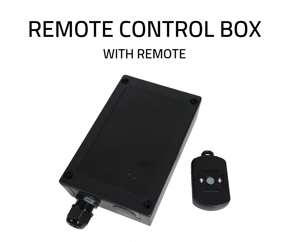 REMOTE CONTROL BOX WITH REMOTE